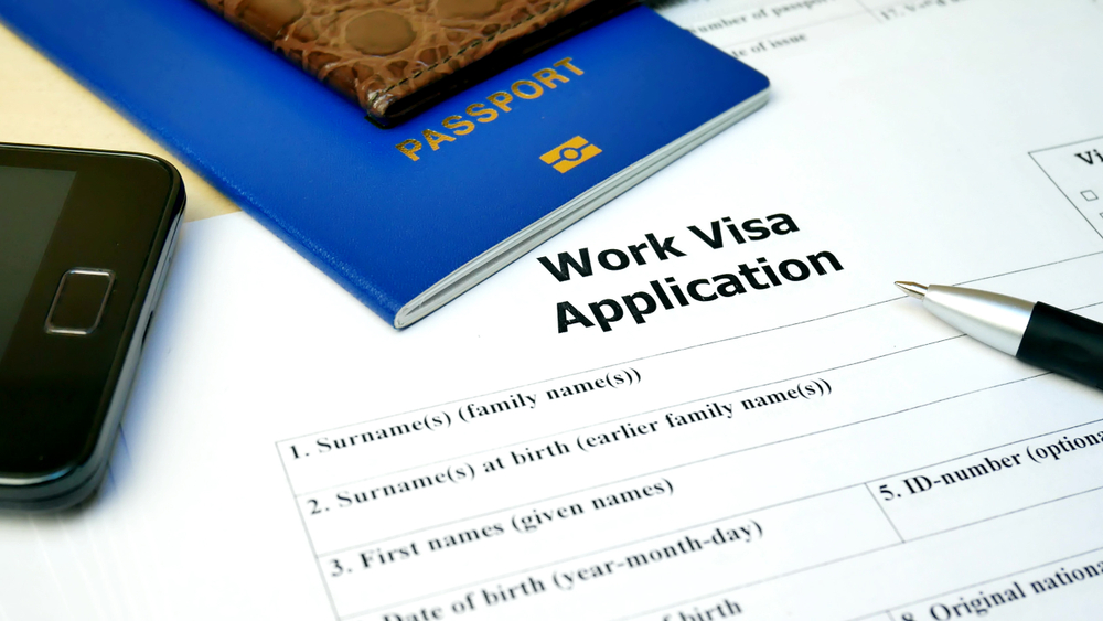 Visa, work permit, residence permit information